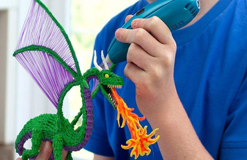lapices en 3d Dragon