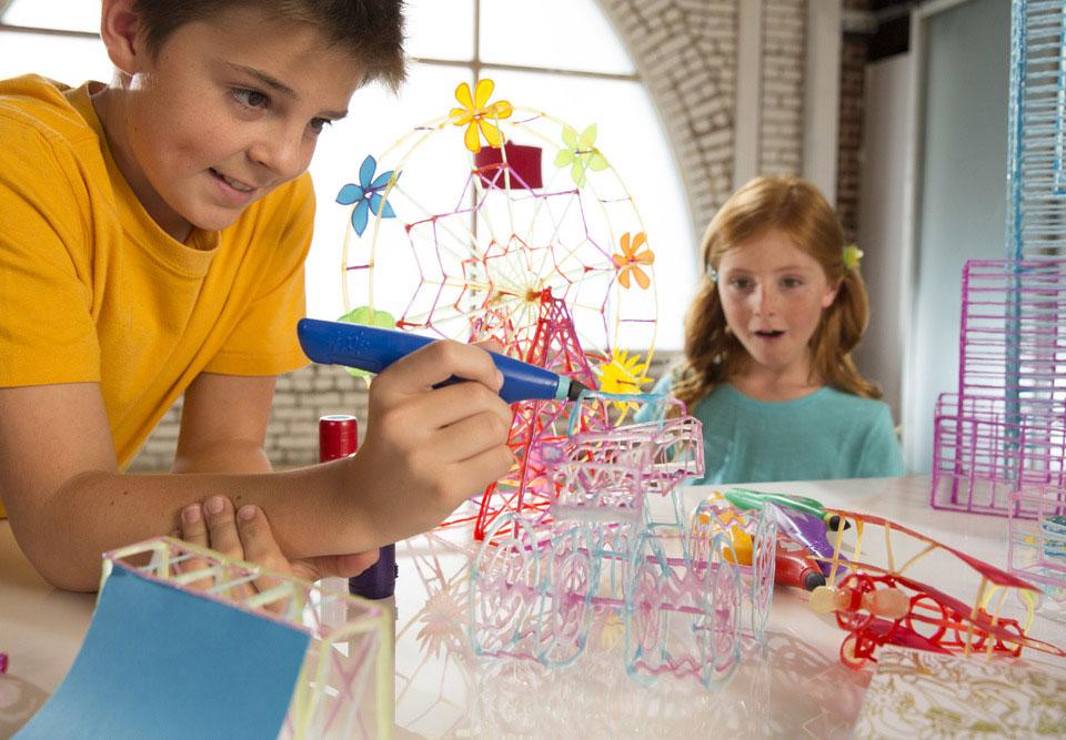lápiz 3D para niños rueda de la fortuna
