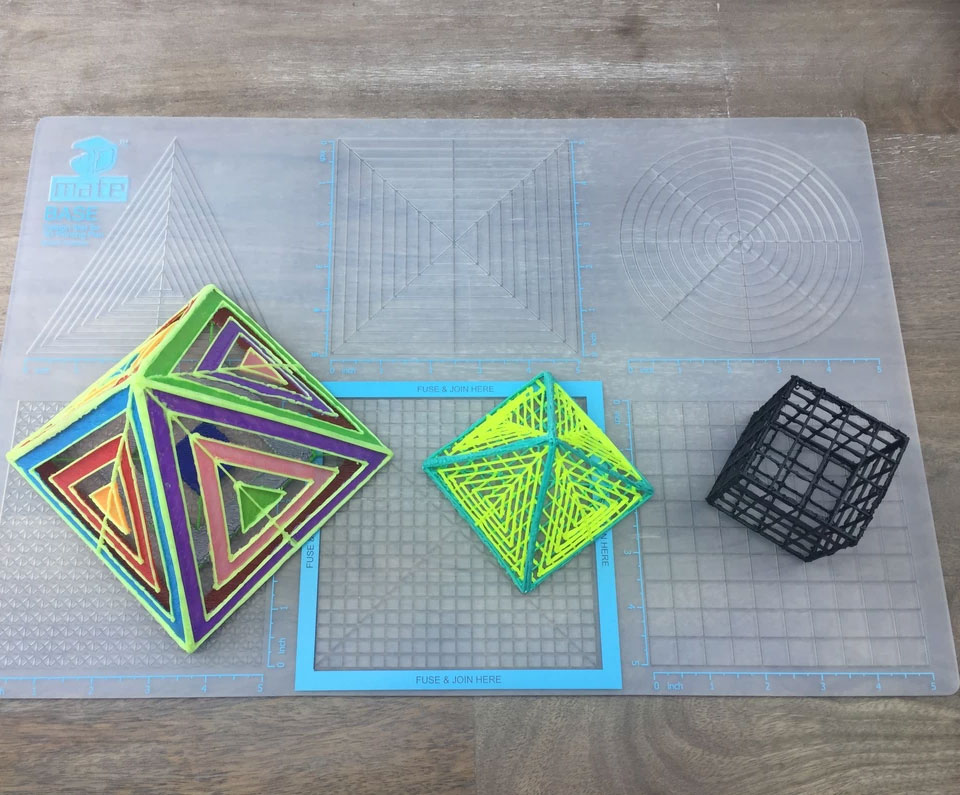 tipos de lápices geometría avanzada 3D